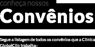 Convênios - GlobalClin